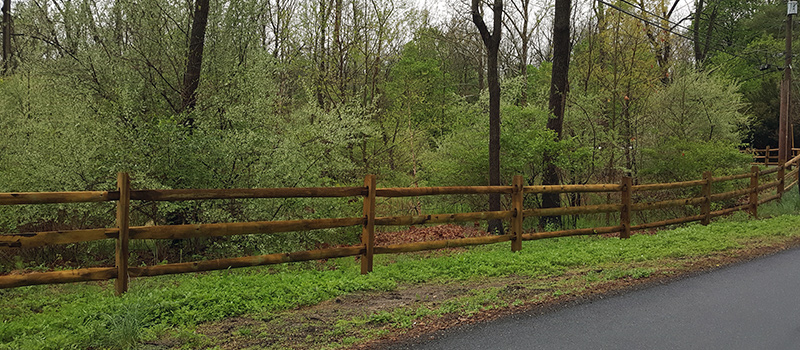 Split Rail Fencing Supplies in New Castle, Delaware