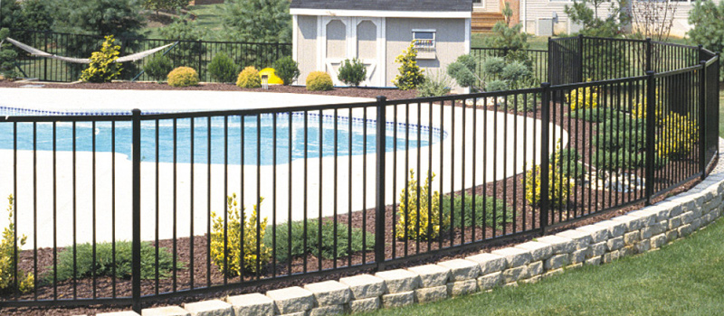 Aluminum Ornamental Fence Supplies Delaware